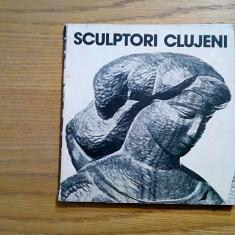 SCULPTORI CLUJENI - text: Mircea Toca - 1978, 111 p. - Carte sculptura