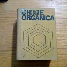 CHIMIE ORGANICA - J. B. Hendrickson, D. J. Cram, G. S. Hammond - 1976, 1306 p. - Carte Chimie
