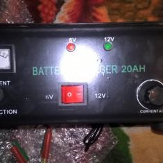 Incarcator baterii Regalbil 6v/12v 20 a Redresor auto 6v/12v alimentarew 220V