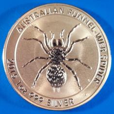 Australia 1 dolar CuNi 40 mm 2015 UNC paianjen, Australia si Oceania