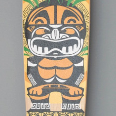 Longboard DROP SHAPE - Totem Tribal - ABEC 7 - Axe Aluminiu - Roti Silikon - NOU - Skateboard, Marime: 42