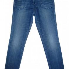 (TUR LASAT) Blugi Conici G-STAR - (MARIME: 27 x 32) - Talie = 80 CM - Blugi barbati, Culoare: Albastru, Lungi, Prespalat, Skinny