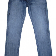 Blugi Skinny LEVI'S BLUE - (MARIME: 32 x 32) - Talie = 84 CM, Lungime = 107 CM - Blugi barbati Levi's, Culoare: Din imagine, Prespalat, Normal