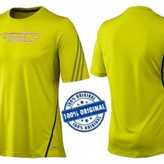 Tricou barbat Adidas F50 - tricou original - Tricou barbati Adidas, Marime: M, Culoare: Galben, Maneca scurta, Poliester