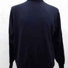 Pulover tip helanca Ermenegildo Zegna original - Pulover barbati, Marime: L, Culoare: Negru, Lana