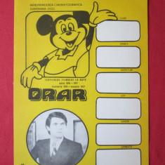 Orar cinema vechi pentru copii ICJ Dolj din perioada comunista, afis cinema