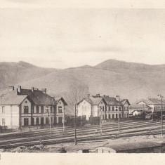 PETROSENI, GARA, NECIRCULATA - Carte Postala Transilvania dupa 1918, Printata, Petrosani