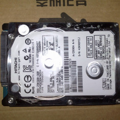 Hard disk 2, 5 Hitachi 320g sata ZSK320-320 - DEFECT, 200-499 GB, Rotatii: 5400, SATA2, 8 MB