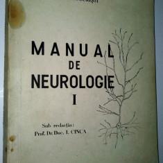 Manual de neurologie - Autor prof. dr. doc. I. Cinca 1980 - Carte Neurologie