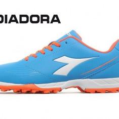 Adidasi de fotbal Diadora750 Turf blue - Ghete fotbal Diadora, Marime: 40.5, 43, Culoare: Bleu