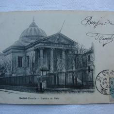 Carte postala circulata in anul 1905 - Saint-Denis Justice de Paix, Franta, Printata
