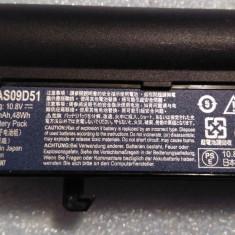 Baterie / Acumulator AS09D51 Acer Aspire 3410 5534 3810 5410 4810T 4410 5538 - Baterie laptop Acer, 6 celule, 4400 mAh