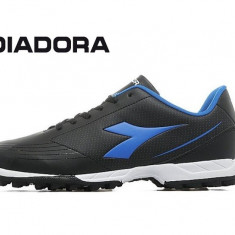 Adidasi de fotbal Diadora750 Turf Black - Ghete fotbal Diadora, Marime: 39, 40.5, 42.5, 43, Culoare: Negru, Din imagine