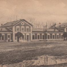 LUGOJ, GARA, CIRCULATA 1923 - Carte Postala Banat 1904-1918, Printata