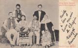 DINCA SCHILER DEPUTATUL TERAN DE GORJ CU FAMILIA SA, CIRCULATA 1900, Printata