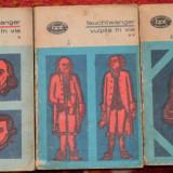 BPT 322-323-324 -LION FEUCHTWANGER - VULPILE IN VIE (3 volume) - Roman, Anul publicarii: 1973