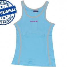 Maieu dama Reebok Retro - maieu original - maieu sport - tricou tenis - Maiou dama, Marime: M, Culoare: Bleu