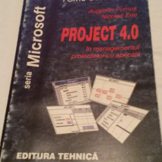 PROJECT 4.0 in managementul proiectelor cu aplicatii - Carte Management