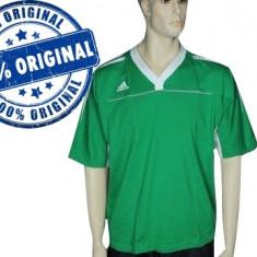Tricou barbat Adidas Stabil - tricou original - Tricou barbati Adidas, Marime: S, M, Culoare: Verde, Maneca scurta, Bumbac