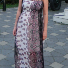 Rochie lunga si pentru gravide