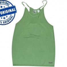 Maieu dama Reebok Framefold - maieu original - maieu sport - tricou tenis - Maiou dama, Marime: M, Culoare: Verde