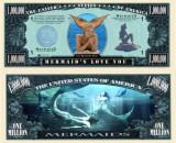 USA 1 Million Dollars UNC Sirena