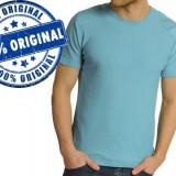 Tricou barbat Freesoul Knitted - tricou original - Tricou barbati Freesoul, Marime: S, Culoare: Bleu, Maneca scurta, Bumbac