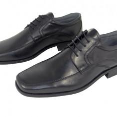 Pantofi eleganti barbati piele naturala Denis-883 n - Pantofi barbat, Marime: 40, 41, 42, 43, 44, 45, Culoare: Negru, Nero, Negru
