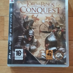 JOC PS3 THE LORD OF THE RINGS CONQUEST ORIGINAL / by WADDER - Jocuri PS3 Electronic Arts, Actiune, 12+, Multiplayer