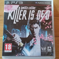 JOC PS3 KILLER IS DEAD LIMITED EDITION ORIGINAL / by WADDER - Jocuri PS3 Ubisoft, Actiune, 18+, Single player
