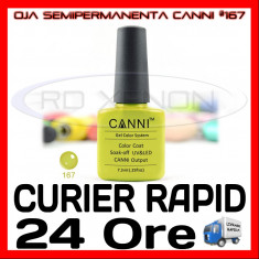 OJA SEMIPERMANENTA (PERMANENTA) LIME COLOR #167 CANNI - MANICHIURA UV