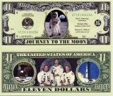 USA 11 Dollars Apollo 11 UNC