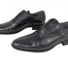 Pantofi eleganti barbati piele naturala Denis-1289 n - Pantofi barbat, Marime: 39, 40, 41, 42, 43, 44, 45, Culoare: Negru, Nero, Negru