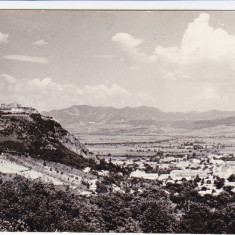 CARTE POSTALA DEVA VEDERE GENERALA RPR - Carte Postala Banat dupa 1918, Necirculata, Fotografie