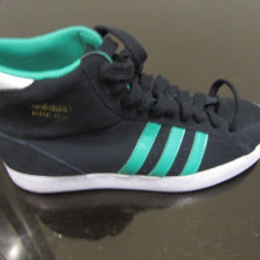 Adidas Gheata piele, originali noi, la reducere NR 38 .2/3 - Ghete dama Adidas, Culoare: Din imagine, Piele intoarsa