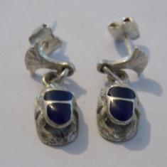 Cercei argint carabusi - 391