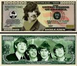 USA 1 Million Dollars Beatles Ringo Starr UNC