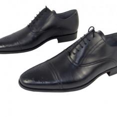 Pantofi eleganti barbati piele naturala Denis-1281 n - Pantofi barbat, Marime: 39, 40, 41, 42, 43, 44, Culoare: Negru, Nero, Negru
