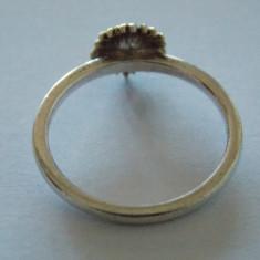 Inel floarea-soarelui - 271 - Inel argint