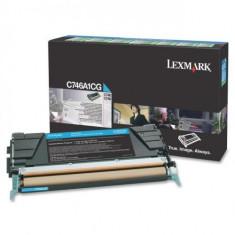 Consumabil Lexmark Consumabil toner pt C746 si C748 Cyan Return Program Toner Cartridge70000 pages