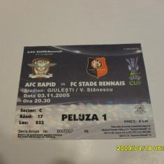 Bilet Rapid - FC Stade Rennais - Bilet meci