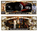 USA 1 Million Dollars Star Wars Saga UNC