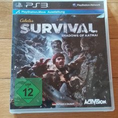 JOC PS3 CABELA's SURVIVAL SHADOWS OF KATMAI ORIGINAL / by WADDER - Jocuri PS3 Activision, Simulatoare, 12+, Multiplayer