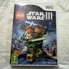 Lego Star Wars III, pentru Wii, original, PAL, alte sute de jocuri! - Jocuri WII Altele, Actiune, 3+, Single player