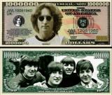 USA 1 Million Dollars Beatles John Lennon UNC