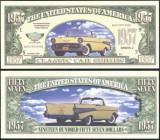 USA 1957 Dollars  Chevrolet 1957 UNC