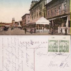 Targu Mures-rara - Carte Postala Transilvania 1904-1918, Circulata, Printata