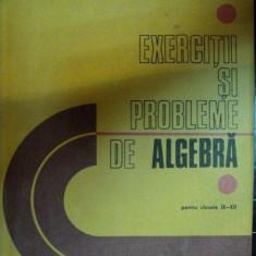 EXERCITII SI PROBLEME DE ALGEBRA PENTRU CLASA A IX-XII-A-C.NASTASESCU, M.BRANDIBUR, C.NITA, D.JOITA - Carte Matematica