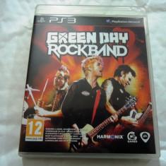 Joc Green Day Rockband, PS3, original, alte sute de jocuri! - Jocuri PS3 Altele, Simulatoare, 12+, Multiplayer