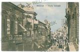 1219 - BUCURESTI, Lipscani street - old postcard - used - 1909